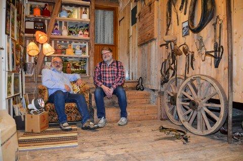 NATTHAGEN-GUTTA: Robert Khoury (til venstre) og Trond Einar Solberg Indsetviken.