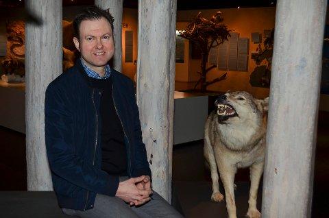 VIKTIG FOR MUSEER: Stortingskandidat Yngve Sætre (H) mener gaveforsterkningsordningen er viktig for museer. Her på Skogmuseet, som har benyttet seg av ordningen.
