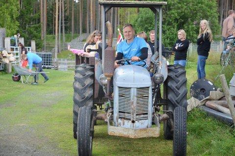 STENGT I ÅR: Ole Magnus Triumf og familien eier og driver Snippen gård i Julussdalen.