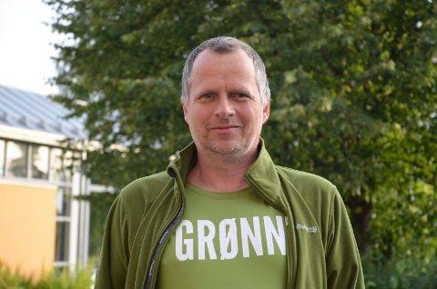 VIKTIG: Jon Lurås, stortingskandidat for MDG, sier at et godt regelverk er viktig når det gjelder bruken av elsparkesykler.