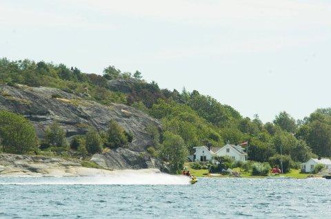 HYTTEPARADIS: Rett utenfor bylivet i Tønsberg, finner man hytteparadiset på Hvasser.