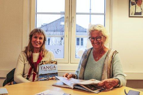 ENGASJERTE: Ellen Sjong og Ruth Nesje har begge et stort hjerte for Tanga i Tanzania. Alt overskuddet fra boka som slippes nå i desember går til organisasjonen TICC.