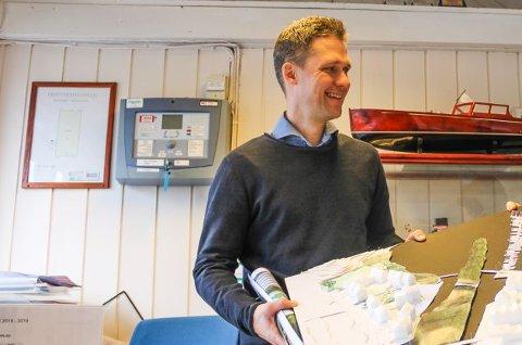 Andreas Hojem Olsen og Format Eiendom har bygd over hundre leiligheter i prosjektet Ørsnes Brygge.