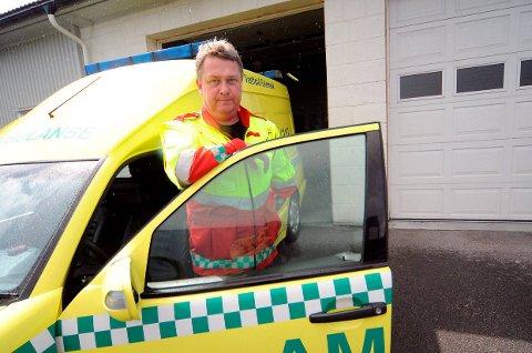 VIL HA KRAGERØ: Øyvind Amundsen i Bamble Ambulanse mener det er mest fornuftig å slå sammen legevaktene i Bamble og Kragerø, med en lokalisering på Rugtvedt nært E18.
