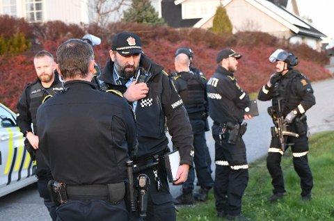 Politiet tok ingen sjanser da den dramatiske meldingen kom inn onsdag ettermiddag.