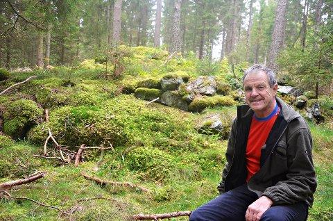 Svein Syversen er den første til å innrømme at det er fullt mulig å rote seg bort i Fjella.
