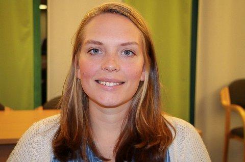VIL MARKERE: Tina Ødegård Holt vil flagge på kvinnedagen.