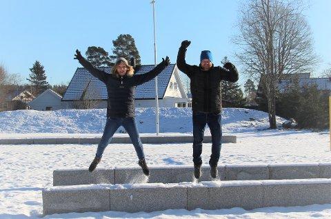 Send inn: Liv Karin Broen og Hans-Kristian Bergsta ønsker seg mange kandidater til idrettsprisene for det spesielle året 2020.