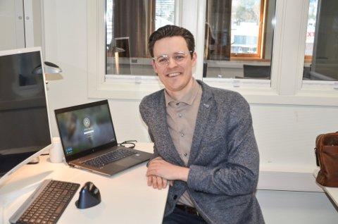 Ny jobb: Johan Tørnby (36) skal være prosjektleder for byggeprosjektet nye Skautun.