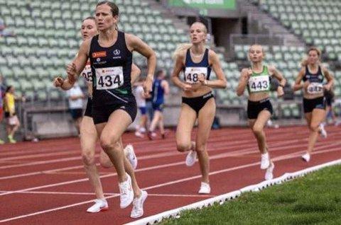 Løper for finaleplass: Malin Søtorp Solberg (15) skal inn i et sterkt felt når hun løper 1500 meter i junior-NM.