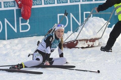 Emilie Ågheim Kalkenberg fra Skonseng UL gikk inn til femteplass i 19-årsklassen.