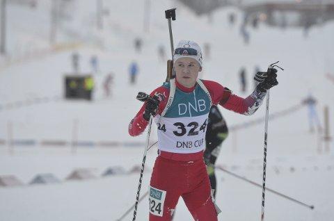 Nikolai Frydenlund ble nummer 15 på sprinten i dag.