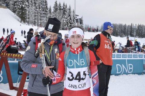 FAVORITT: Rana dominerer skiskyttersporten i Nord-Norge, mye takket være en løper som Marthe Kråkstad Johansen, B&Y IL.
