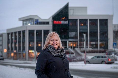 Marit Ulriksen. Sjefredaktør i Rana Blad.
