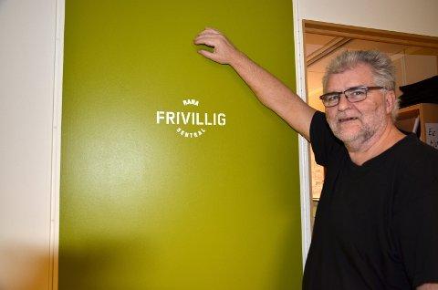 Hvem?: Daglig leder i Rana Frivilligsentral, Stein E. Hovind, vil ha forslag på kandidater til Frivilligprisen.Foto: Toril S. Alfsvåg