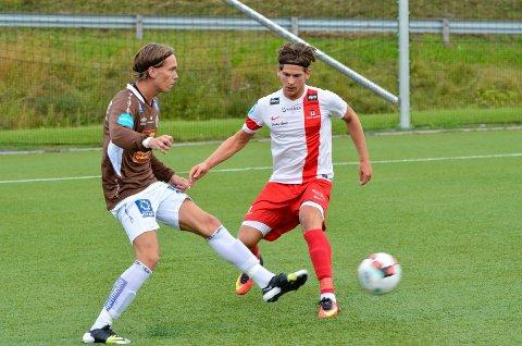 Joachim Olufsen (22) skal neste sesong prøve seg på et høyere nivå, den offensive spilleren har nemlig skrevet under for Ranheim.