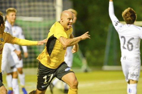 AVGJORDE: Målkongen Stian Celius avgjorde blant annet den avgjørende kampen mot Bodø/Glimt 2.