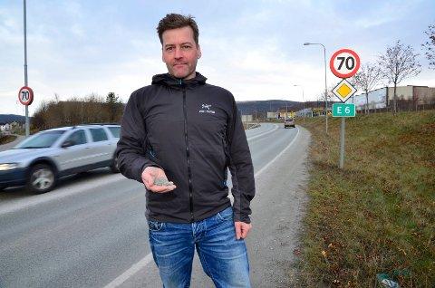 PRØVE: Fra høsten kan det bli miljøfartsgrense i Svortdalen som en prøveordning, sier miljøvernrådgiver Allan Berg.