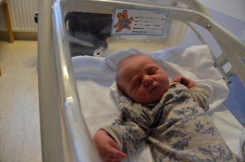 Matheo til nybakte foreldre Robin Roghell og Thea Bratvold tar livet med knusende ro, i alle fall til å begynne med.