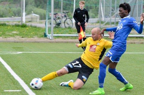FORNØYD: Stålkams Stian Celius tror Rana FK har gjort en god ansettelse.