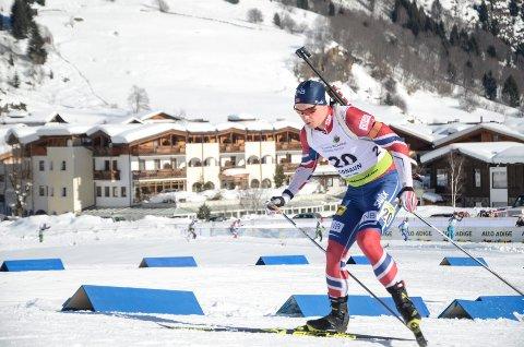 SPENNENDE: B&Y ILs Fredrik Gjesbakk går IBU-renn i Russland de to kommende helgene. Foto: Trond Isaksen