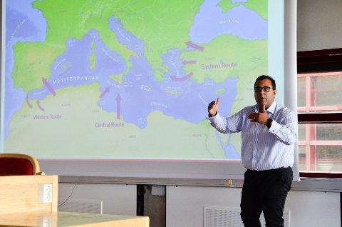 Masud Gharahkhani, Aps mann på innvandring, leder migrasjonsutvalget, innvandringspolitisk talsperson