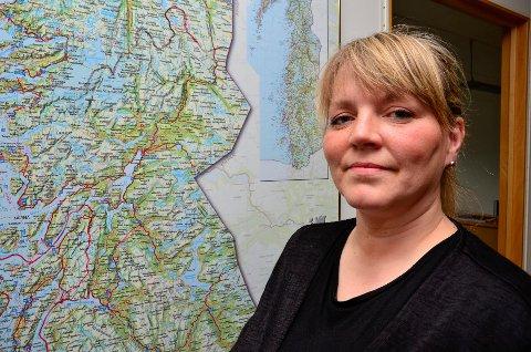 MOTSTAND: Styremedlem May-Lene Meyer og Naturvernforbundet i Rana jobber for å stanse Elkems planer i Nasafjell.