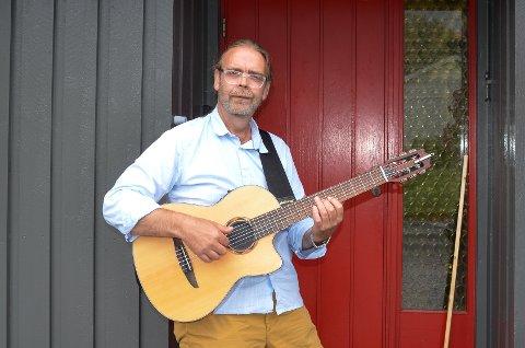 Snorre Sivertsen (59) er aktuell med tre opptredener på Hemnesjazz i helga.