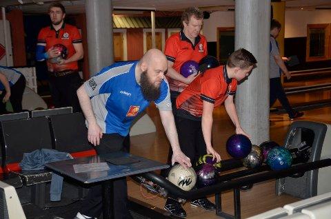 Anders Westgård og Rana Bowlingklubb hadde full kontroll på Molde og Trondheim 2 i dagens kamper.