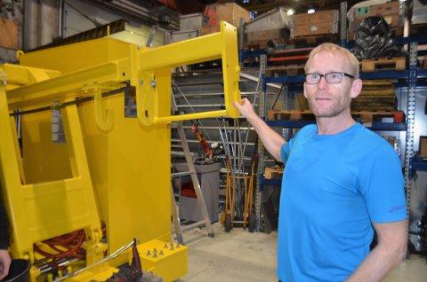 GODE TALL: I 2019 hadde Miras Hydraulikk AS en omsetning på 30 millioner kroner. Det er et godt år, sier daglig leder Bjørn-Einar Nesengmo.