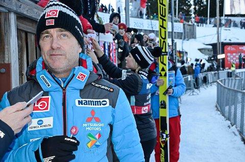 VIKTIG: Sportssjef Clas Brede Bråthen er opptatt av at Fageråsen-prosjektet kommer i havn. - Nord-Norge er et svart hull som må tettes, sier han. Foto: Trond Isaksen