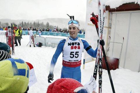 Vil bli bedre: Skonseng ULs Simon Ågheim Kalkenberg føler han fortsatt har mye å gå på som skiskytter, og satser videre mot en ny sesong. Foto: Trond Isaksen