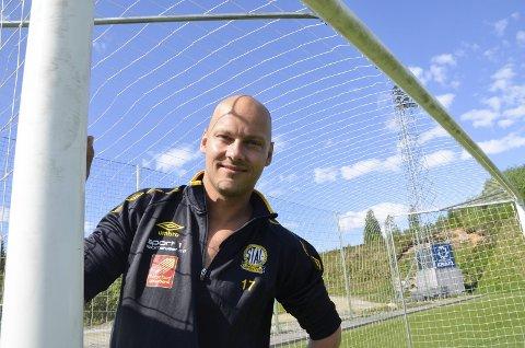 Stian Celius, eks Stålkam og Mo IL, er en av de rutinerte spillerne på B&Y ILs A-lag, som i 2021 skal spille i Hesa-serien (4. div.)