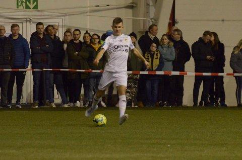 Vebjørn Walnum Vinje og Stjørdals-Blink leverte en oppløftende treningskamp mot Rosenborg.
