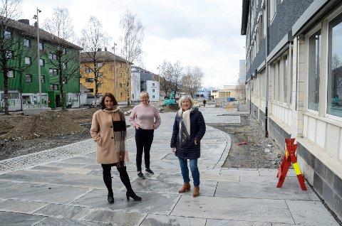 De kan ikke garantere at været lever opp til årstida, men sommermåneder med ferie blir det for ansatte i den kommunale helse- og omsorgssektoren, også i disse koronatider, forsikrer fagsjefene Randi Ødegaard, Ann-Marit Tverå og Marit Sviggum.