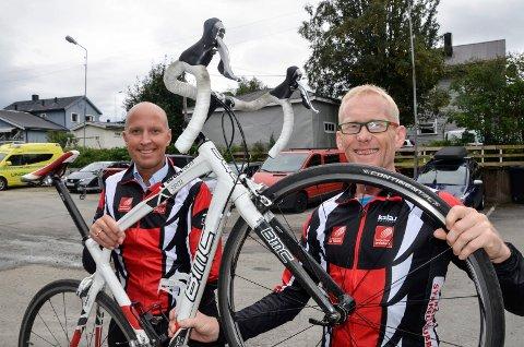 Frode Thomassen og Bjørn-Einar Nesengmo får endelig konkurrere på sykkelsetet igjen.