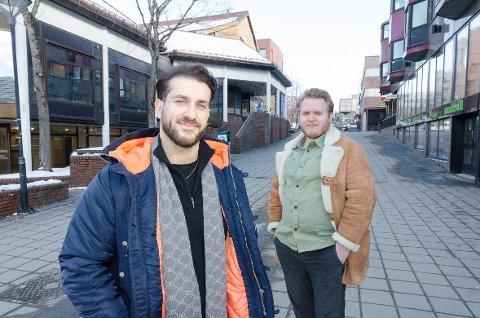 Martin Axa, eier av Los Hermanos, og Paal Friele Grung fra Deel står bak helgas store mat-snakkis. - Første dagen ble vi utsolgt på en halvtime, forteller de.