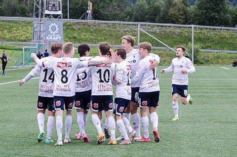 Rana FK spilte en solid kamp. Det vises også på spillerbørsen. Foto: Trond Isaksen