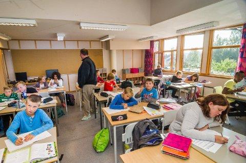 - Det er fortsatt en del lærere som mangler fordypning i fagene de underviser i, sier kunnskaps- og integreringsminister Jan Tore Sanner i en pressemelding. Illustrasjonsfoto.