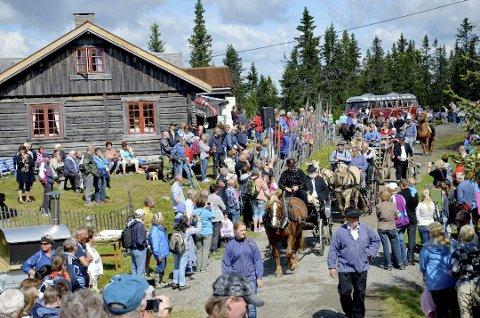 Seterdager: er det både på Rømåssetra og Kaussetra lørdag.