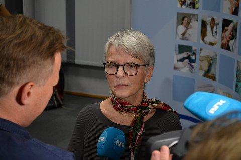 ØNSKET Å FORTSETTE: Anne Enger ønsket å fortsette som styreleder i Sykehuset Innlandet, men fikk ikke anledning til det.