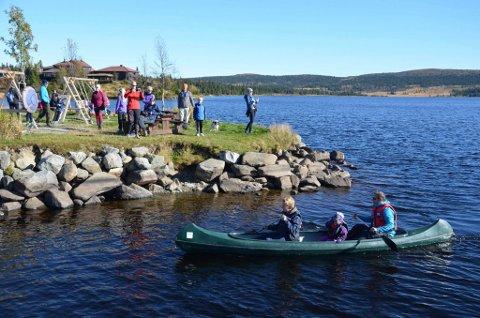 BADSTUPLANER: Om søknaden godkjennes kan det bli flytende badstu ved Sjusjølunga.