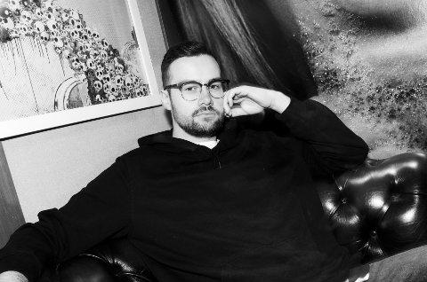 Satser på musikk: Lars Christian Fredlund (26)  fra Nybygda.