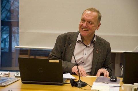 Ordfører Lars Magnussen Ap er fornøyd med budsjettforslaget. (Arkivbilde)
