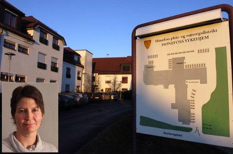 Heidi Elisabeth Lafton er tilsatt som enhetsleder ved Hønefoss omsorgsenter.