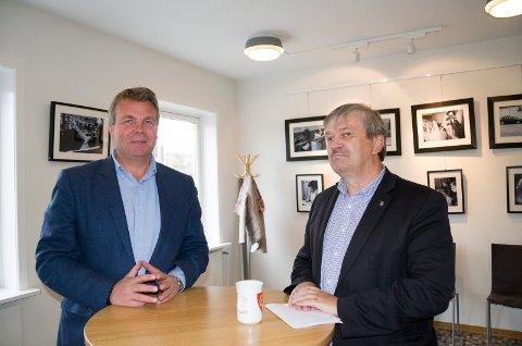 Varaordfører Dag E. Henaug (H) blir heltidspolitiker sammen med ordfører Kjell B. Hansen (Ap). 80 prosent av tiden skal Henaug jobbe med et prosjekt for å sikre god politisk styring av vei- og baneprosjektet og byutvikling.