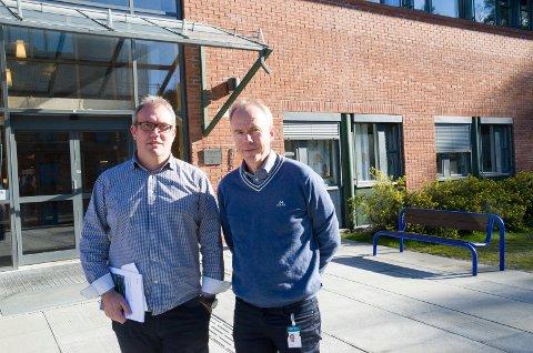 Høyskolelektorene Bjørn Ove Grønseth og Steinar Aasnæss mener regjeringen med penger til vei og bane legger til rette for vekst i regionen.