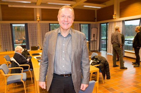 Ordfører Lars Magnussen (Ap) er godt fornøyd med at lokalpolitikerne er så enige om budsjettet.