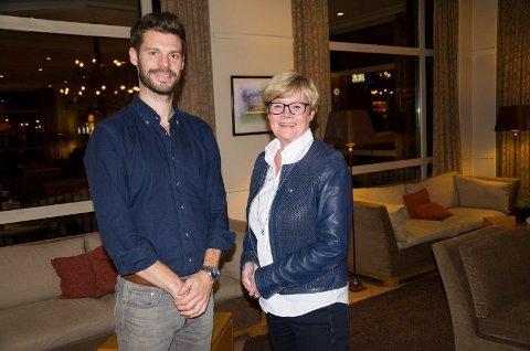 Bjørnar Moxnes (Rødt) og Kristin Ørmen Johnsen (H) ser helt forskjellig på det å la private bidra til omsorgstjenester.