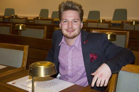 Håkon Ohren (Ap) er en av Arbeiderpartiets lokale stortingskandidater